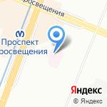 Психоневрологический дом ребенка №4 на карте Санкт-Петербурга