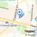 Детский сад №83 комбинированного вида на карте Санкт-Петербурга