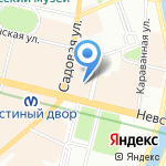 Mia Donna на карте Санкт-Петербурга