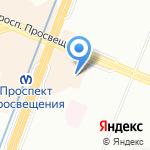 Бош Сервис на карте Санкт-Петербурга
