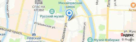Jack & Chan на карте Санкт-Петербурга