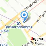 Федеральная служба охраны Российской Федерации на карте Санкт-Петербурга