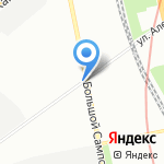 АРИАН на карте Санкт-Петербурга
