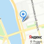 Легирус на карте Санкт-Петербурга