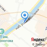 Розетта на карте Санкт-Петербурга