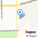 Балтвэй на карте Санкт-Петербурга