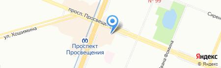 Coral Travel на карте Санкт-Петербурга