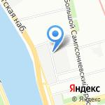 АНК на карте Санкт-Петербурга