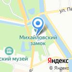 Центральная военно-морская библиотека на карте Санкт-Петербурга