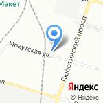 Мажордомъ на карте Санкт-Петербурга