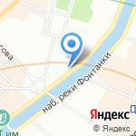 РАХАТ на карте Санкт-Петербурга