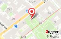 Схема проезда до компании Энергоресурс в Санкт-Петербурге