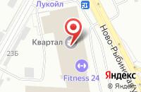 Схема проезда до компании Контур в Санкт-Петербурге