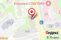 Схема проезда до компании Бета-Версия в Санкт-Петербурге