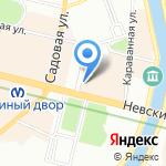 ЛогикТранс на карте Санкт-Петербурга