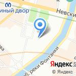 Дорожная профсоюзная организация Октябрьской железной дороги на карте Санкт-Петербурга