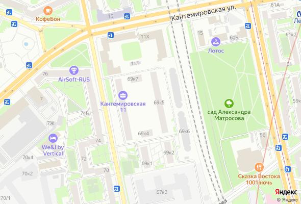продажа квартир Кантемировская 11