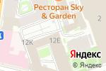 Схема проезда до компании Ready Steady в Санкт-Петербурге