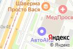 Схема проезда до компании A & N studio в Санкт-Петербурге