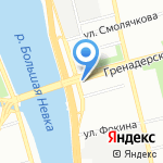 Север Групп на карте Санкт-Петербурга