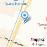 Киоск по ремонту одежды и обуви на карте Санкт-Петербурга
