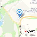 Листвин на карте Санкт-Петербурга