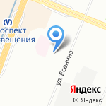 Детский сад №65 комбинированного вида на карте Санкт-Петербурга