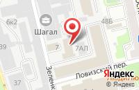 Схема проезда до компании Ярославна в Санкт-Петербурге