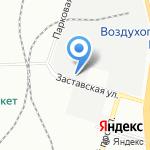 Лаату на карте Санкт-Петербурга