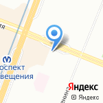 Араз на карте Санкт-Петербурга