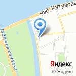Ленинградский областной суд на карте Санкт-Петербурга