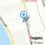 Нефтяной клуб Санкт-Петербурга на карте Санкт-Петербурга