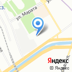 Нептун сервис на карте Санкт-Петербурга