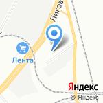 Водная Стихия на карте Санкт-Петербурга
