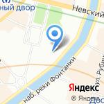 АСК на карте Санкт-Петербурга