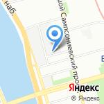 Остров Сокровищ на карте Санкт-Петербурга