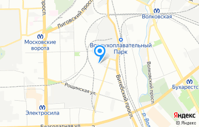 Местоположение на карте пункта техосмотра по адресу г Санкт-Петербург, пр-кт Люботинский, д 8