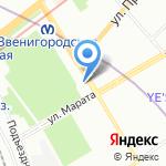СКА на карте Санкт-Петербурга