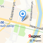 Газпром интернешнл на карте Санкт-Петербурга