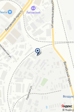 Электромаш на карте Санкт-Петербурга