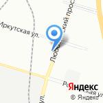 ЛИДЕР ЛКМ на карте Санкт-Петербурга