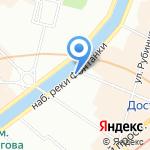Средняя общеобразовательная школа №206 на карте Санкт-Петербурга