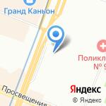 Zapravka911 на карте Санкт-Петербурга