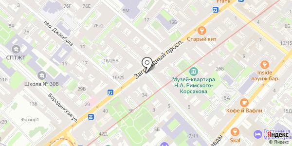 Киоск по продаже фруктов и овощей. Схема проезда в Санкт-Петербурге