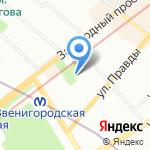 Центр социальной помощи семье и детям Центрального района на карте Санкт-Петербурга