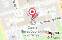 Схема проезда до компании Аметист Фильм в Санкт-Петербурге