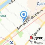 Hall Oscar на карте Санкт-Петербурга