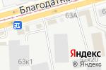 Схема проезда до компании Гагарин Авто в Санкт-Петербурге