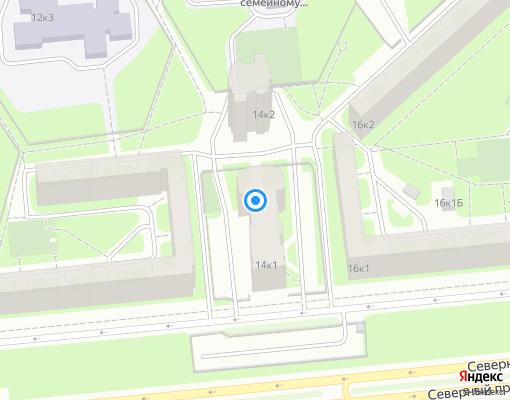 Товарищество собственников жилья «Северное» на карте Санкт-Петербурга