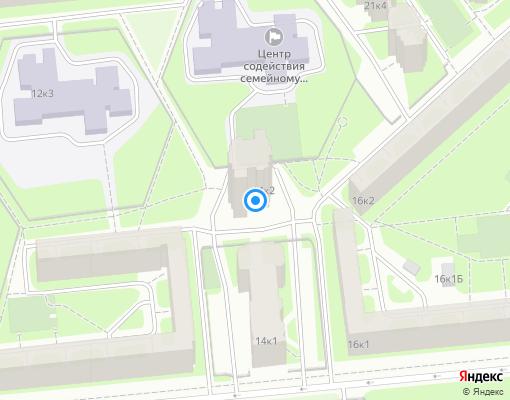 Товарищество собственников жилья «Северный-14» на карте Санкт-Петербурга